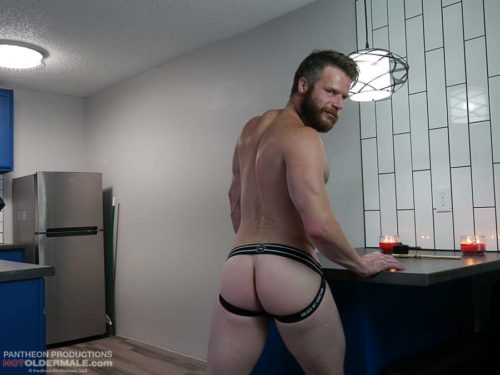 jockstrap muscle butt